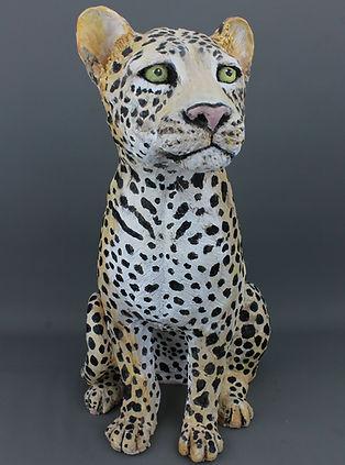 Sculpture léopard animal sculpture