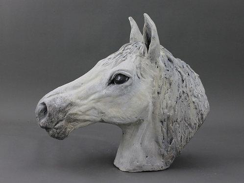 Andalusian horse, unique sculpture