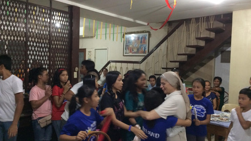 Goodbye Sr. Gulliana, Welcome Sr. Rosella