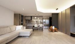 Dining Area & Open Kitchen