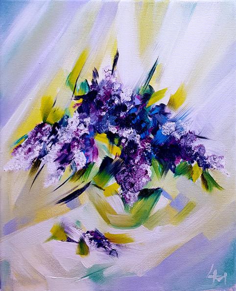 Liliac Flowers