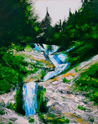 Horses Waterfall