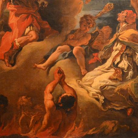 O Inferno e a parábola da veste nupcial