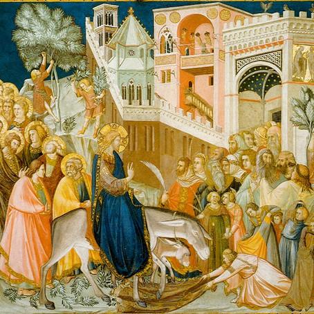 A entrada triunfante de Jesus em Jerusalém (Homilia)