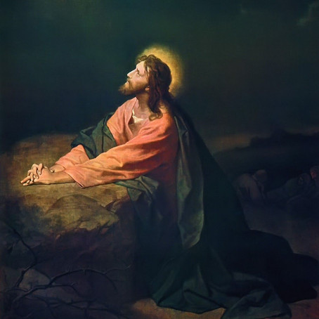 Jesus no Horto (Homilia)