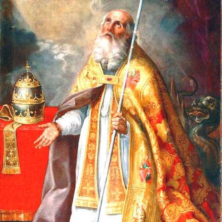 Missa de São Silvestre, Papa e Confessor