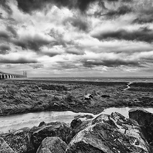 Severn Bridges from South Wales