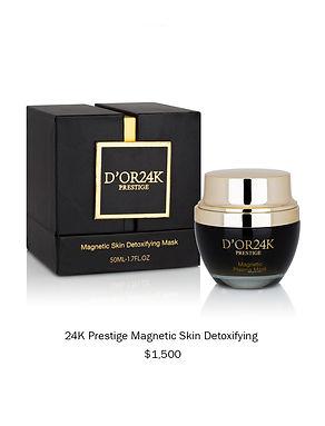 D'OR24K Prestige Magnetic Skin Detoxifyi