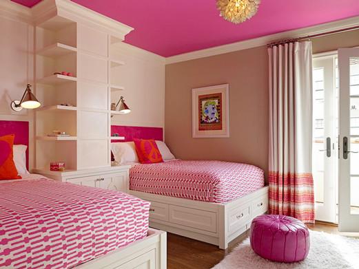 צביעת חדר וורוד עם חום ולבן.jpg