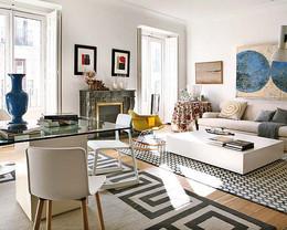 דירה עם קירות לבנים שטיחים דוגמאות.jpg