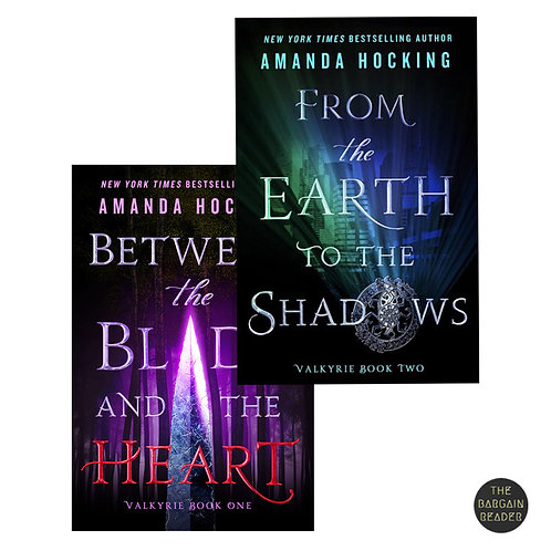 Between the Blade and the Heart Duology by Amanda Hocking