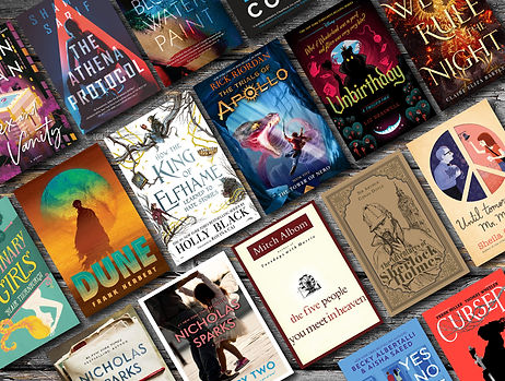 TBR Website Feature March 2021 Books Onl