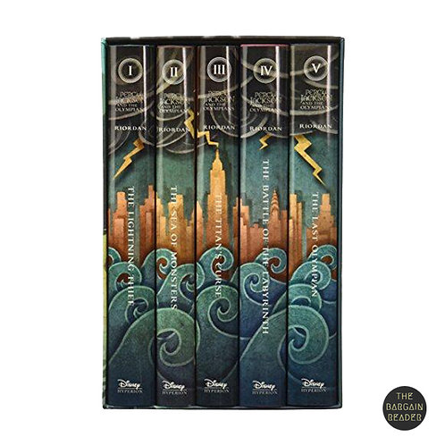 [5 HARDCOVERS] Percy Jackson and the Olympians Boxed Set by Rick Riordan