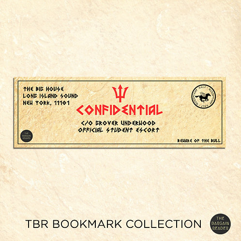 Camp Half-Blood Confidential Bookmark