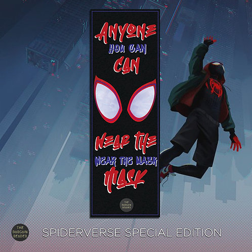 Spiderverse Special Edition Bookmark