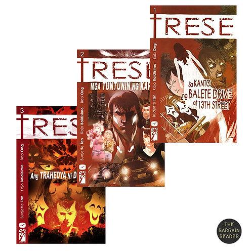 Trese 3-Book Bundle (Trese #1-3) ni Tan, Baldisimo & Ong