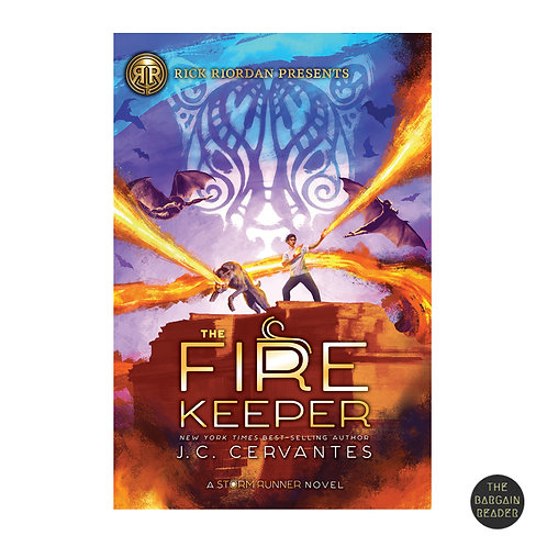 The Fire Keeper (The Storm Runner #2) by J.C. Cervantes