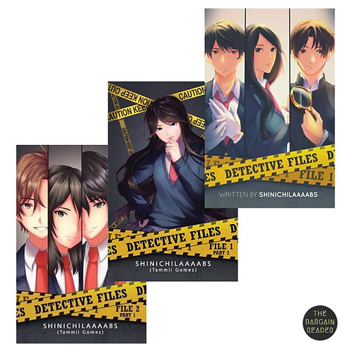 The Detective Files 3-Book Bundle by Shinichilaaaabs
