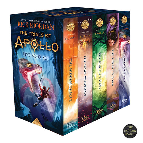The Trials of Apollo 5-Book Hardcover Boxed Set by Rick Riordan
