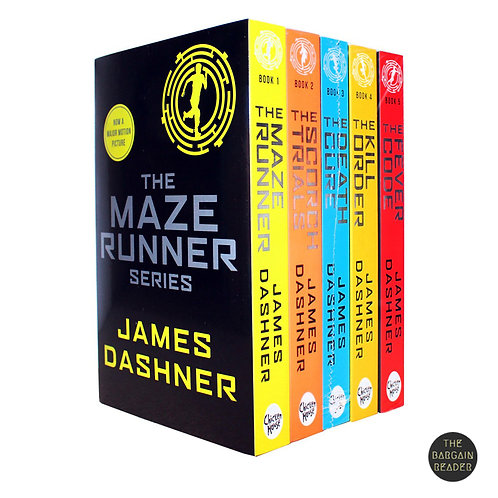 Maze Runner Complete 5-Book Collection by James Dashner