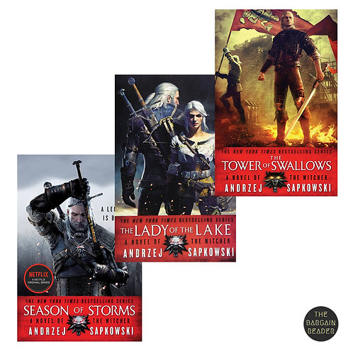 The Witcher 3-Book Completion Bundle (The Witcher # 4-6) by Andrzej Sapkowski