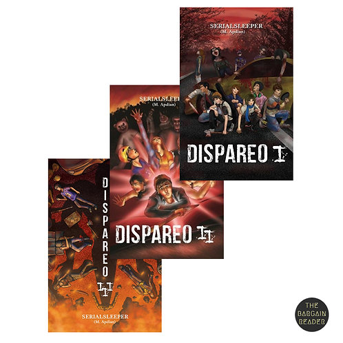 Dispareo Complete 3-Book Series by SerialSleeper