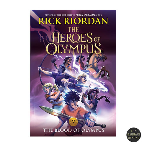 The Blood of Olympus (Heroes of Olympus #5, 10th Anniversary Ed) by Rick Riordan