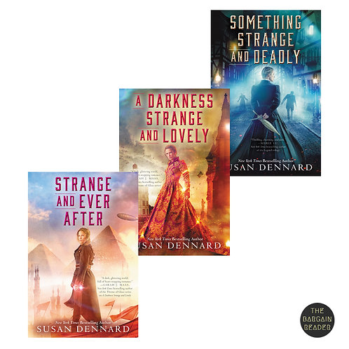 Something Strange and Deadly Trilogy (Books #1-3) by Susan Dennard