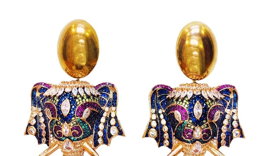 Maharaja Earrings
