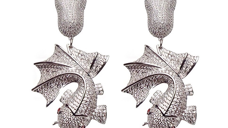 Queen Fish Earrings