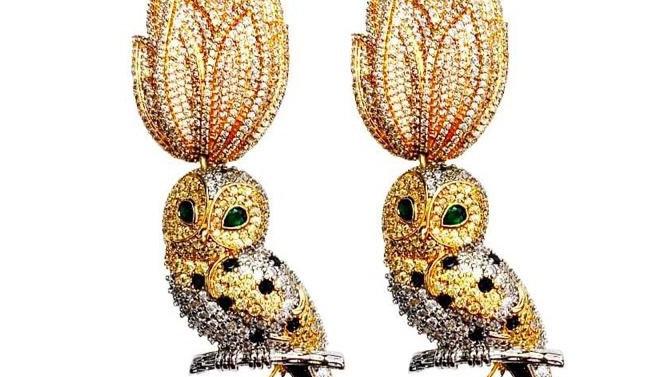 Night Bird Earrings