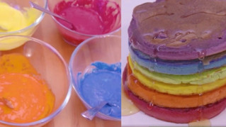 Rainbow Pancake Tutorial with PinkNews