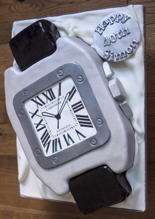 Cartier Watch Cake