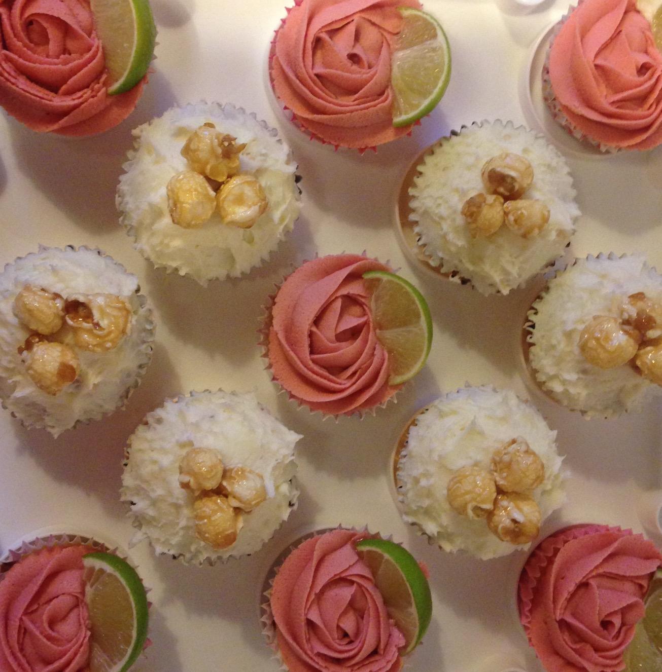 Cosmopolitan and Daiquiri Cupcake