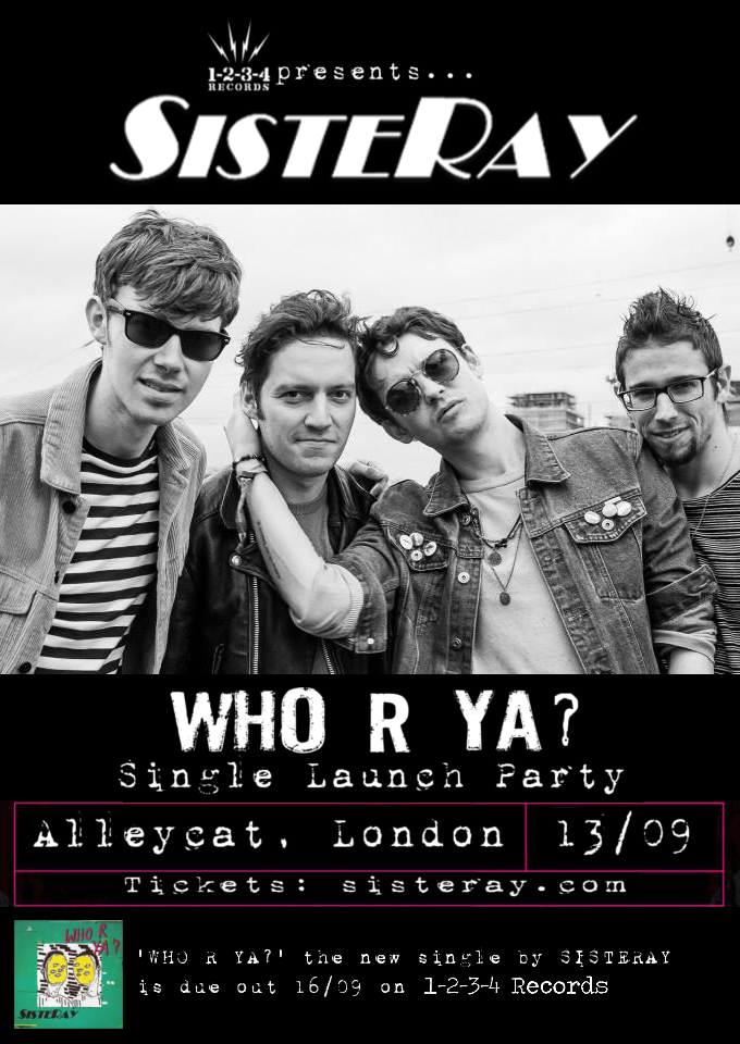 'WHO R YA?' single launch