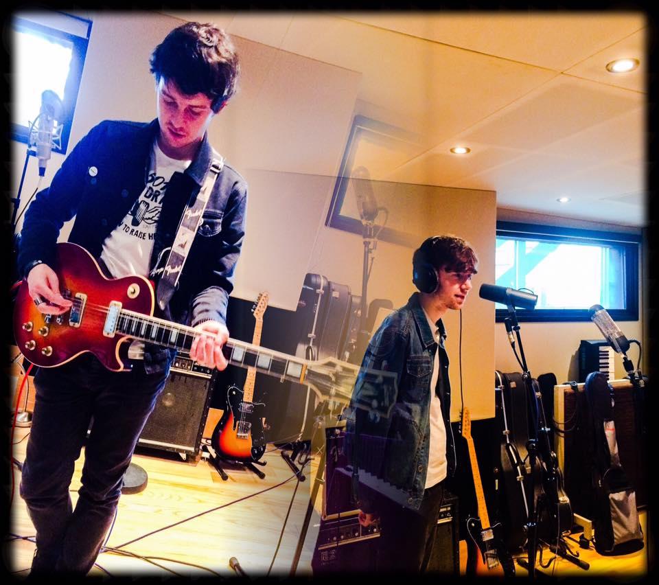 Back in the studio...