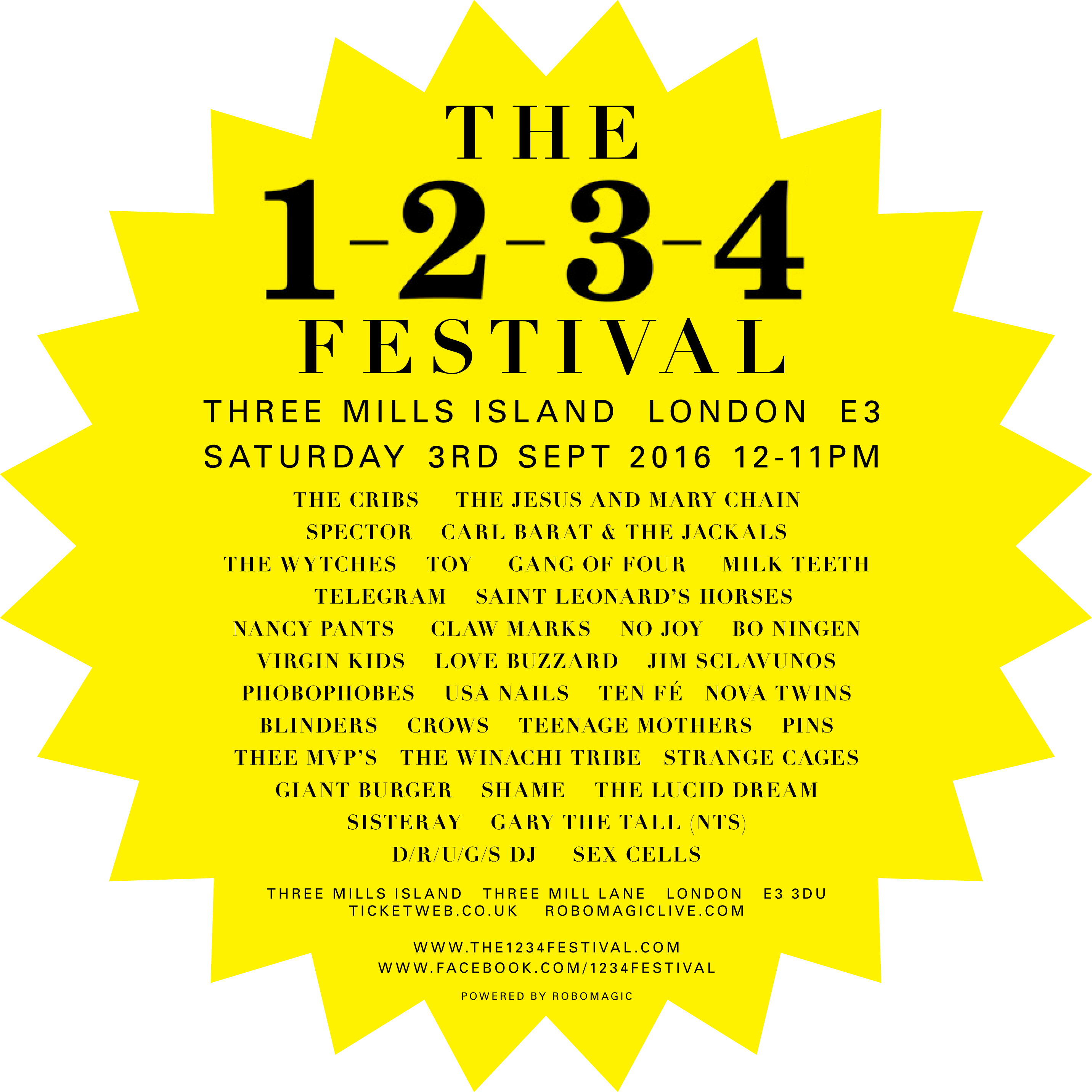 The 1234 Festival!