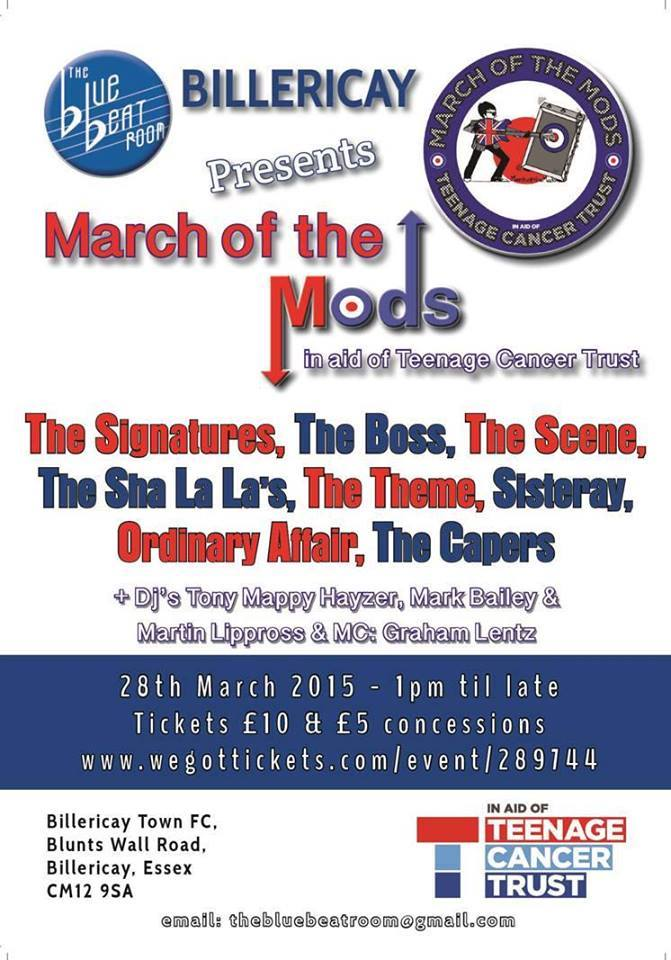 MARCH OF THE MODS!