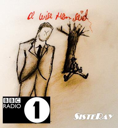 SISTERAY ON BBC RADIO 1!