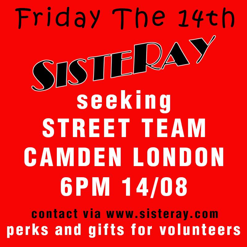 STREET TEAM WANTED!