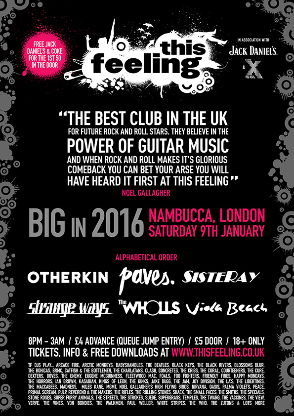 This Feeling/Radio X 'Big in 2016'
