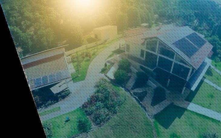 Aquecedor solar para pousadas e hotéis