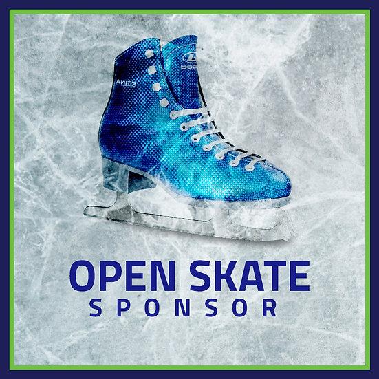 Open Skate Sponsor