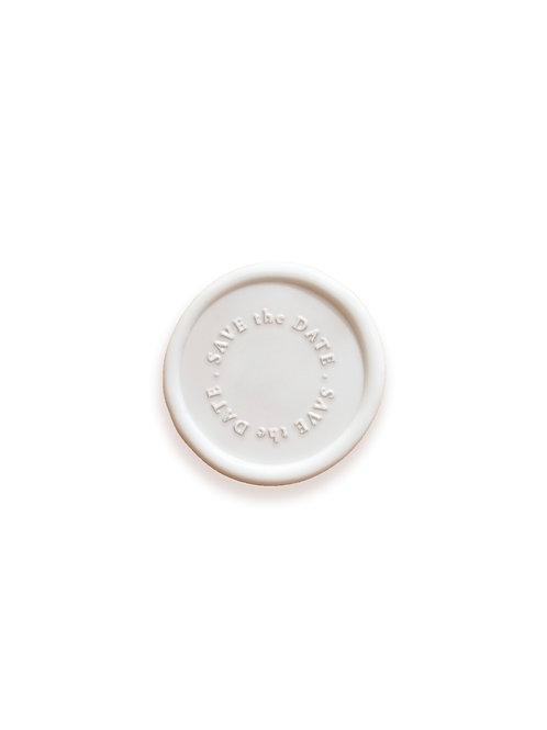 save the date wax seal