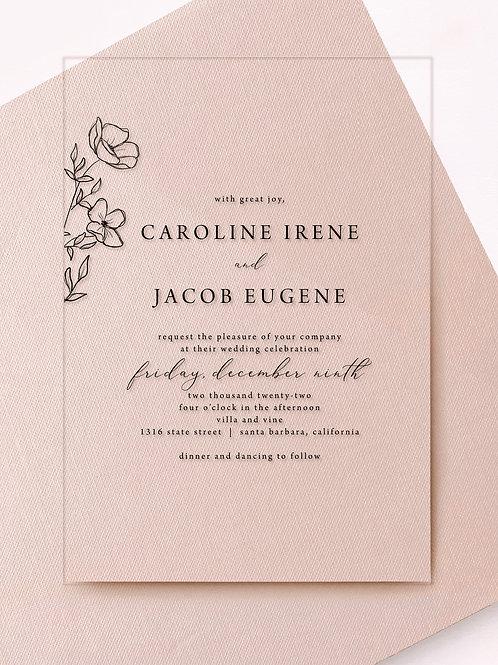 caroline invitation