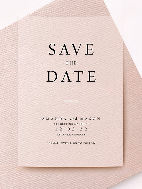 dame save the date
