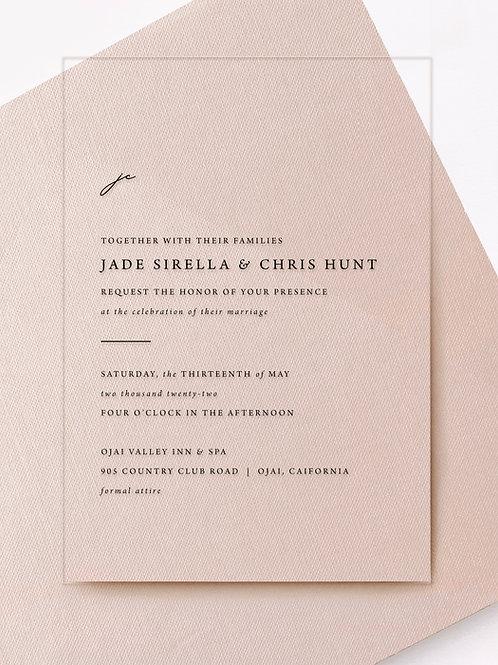 jade invitation