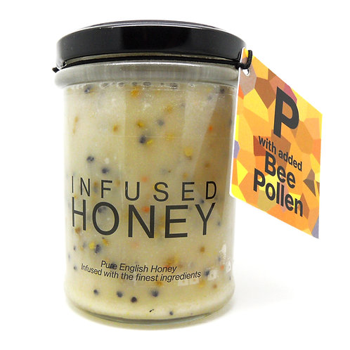 Pollen Infused Honey
