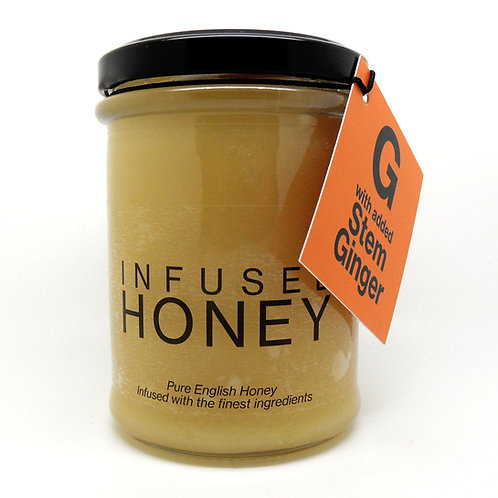 Stem Ginger Infused Honey