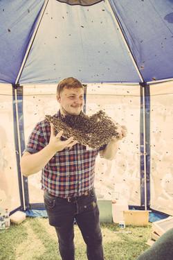 Bee Beard Lincolnshire Show